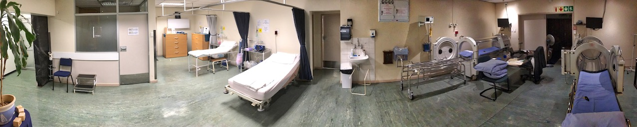 2018-01-27 Clinical Area of the Vascular & Hyperbaric Unit
